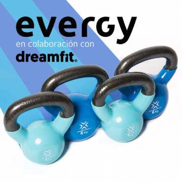 Material Evergy para socios Dreamfit